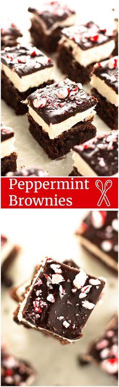 Peppermint Brownies - 2teaspoons