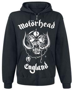 a4a245cce Motörhead Hoodie Sweat Shirt, Heavy Metal Rock, Zip Sweater, Beserk  Clothing, Metallica