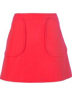 Courreges A-Line Mini Skirt