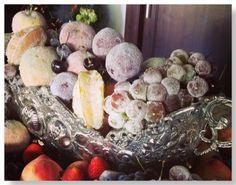 Arranjo de Frutas para o  Ano Novo
