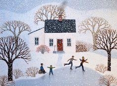 A Snow Day - Diana Card