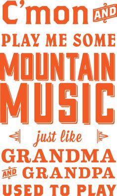 Mountain Music- Alabama