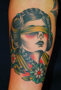 Traditional Tattoo Wow. Great new take on a classic style.