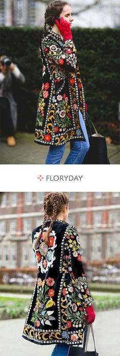 Long sleeve stand collar coats, womens coats, jackets, stylish.