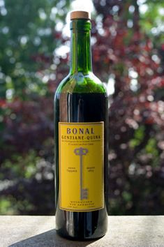 Bonal Gentiane Quina is a great aperitif. A bit more bitter and more complex then Dubonnet.