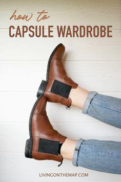 How to capsule wardrobe