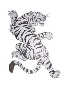 tiger tattoo design Tat is part of Top Tiger Tattoos Of Wild Tattoo Art - I did this Tattoo design for a friend of mine She wants it on her back Tiger Sketch, Tiger Drawing, Tiger Tattoo Design, Tattoo Designs, Tiger Tattoo Back, Tribal Dragon Tattoos, Chinese Dragon Tattoos, Tiger Illustration, Japanese Tiger Tattoo