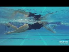 How To Stop Your Legs From Sinking In Freestyle - YouTube