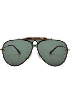 Ray-Ban - RB3581N Blaze Shooter Aviator Sunglasses 7077a38af7ab