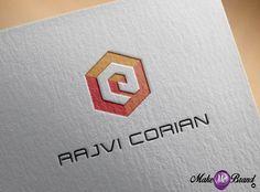 Logo designed by us for Rajvi Corian Furniture, #furniture #logo #graphics #design #identity #brand #branding #identity