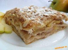 Jablkové lasagne vanilka, škorica, jablká, tvaroh .... jednoducho skvelá chuť skĺbená v jednoduchom receptíku .......