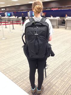 Meet Chelsea and Her Tortuga V2 Backpack Review - Her Packing List