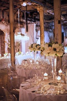 Wedding Decor Toronto Rachel A. Clingen Wedding & Event Design - - Stylish wedding decor and flowers for Toronto the vases! Wedding Reception Decorations, Wedding Themes, Wedding Designs, Wedding Table, Wedding Events, Our Wedding, Dream Wedding, Wedding White, Non Floral Centerpieces