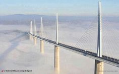 Beautiful bridge in France.