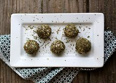 Herbed Chèvre Balls Roll balls of chèvre in your favorite herbs and spices, and serve as an appetizer, like a savory take on a box of bonbons. See more #DIY Goat Cheese + 15 Easy App #Ideas: http://discover.rodales.com/insider-videos/diy-goat-cheese-and-15-easy-appetizers