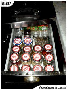 Organizzare le Spezie in un cassetto