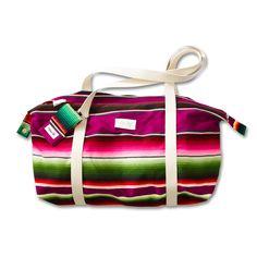 Weekender/Sport-u. Reisetasche (Mexican Blanket) von GEMBAGS auf DaWanda.com