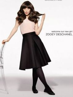 Zooey Deschanel Poses for Pantene | Daily-Whisper