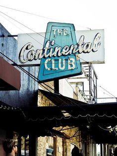 Continental Club, Austin, Texas - This legendary club has been bringin' live bands to South Congress since 1957 Texas Travel, Travel Usa, Texas Music, Vintage Neon Signs, Auto Retro, Texas Hill Country, Country Bar, Loving Texas, Austin Tx