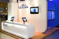 ipad mounted to reception desk - Google Search