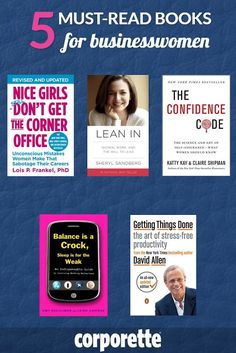 Whether you're a woman lawyer, an executive, a manager, or another kind of businesswomen, we rounded up 5 must-read business books! These are FULL of great advice for work-life balance, strategies for success, and more. You must read them!