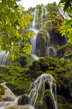 Guney Falls, Denizli, Turkey