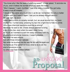 Title The Agreement An Indecent Proposal Authors JC Reed