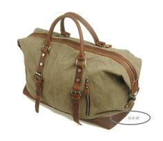 45. Reisetasche  Sporttasche  Weekender  Canvas   von NewArtWorld auf DaWanda.com
