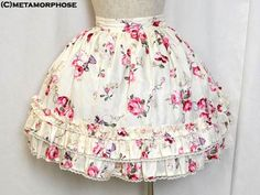 Royal Rose Skirt (2011) by Metamorphose Temps de Fille