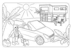 ausmalbilder playmobil kinderzimmer | playmobil
