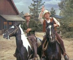 Michael Landon & Dan Blocker
