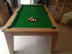 Home :: Pool Tables :: Prince Classic Diner Pool Table Dining Table, Pool Tables, Buy A Pool, Pool Table Covers, Wall Clips, Family Dining Rooms, Table Frame, Resin Material, Light Oak