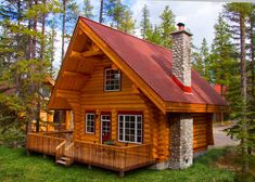 Alpine Village cabin rentals. Jasper National Park Alberta Canada