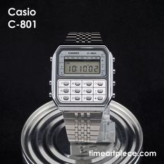 f89290124023 This is my Casio C-801 calculator watch from the 1980s.  watch