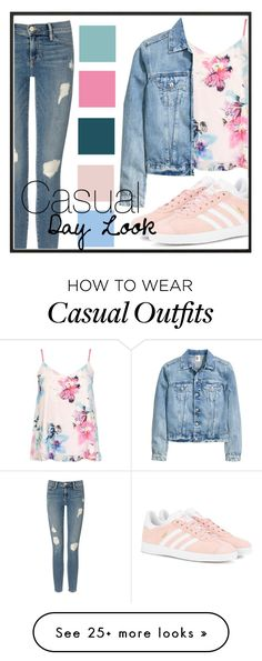 """""""Casual Day Look"""" by kimbo20111 on Polyvore featuring By Lassen, Frame Denim, Dorothy Perkins and adidas Originals"""