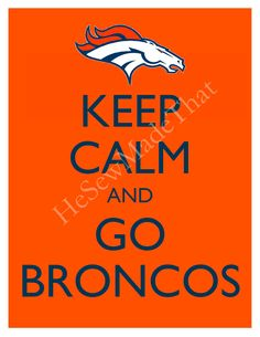 Finally KC has been beaten! I wonder who has their heads down now? :) I bleed orange and blue!