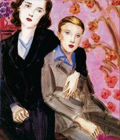 Elizabeth Peyton - Gladys Presley y Elvis, 1997