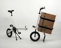 Cargo bicycle - concept bike - barrow