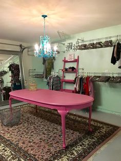 I can see the possibilities for a home based boutique