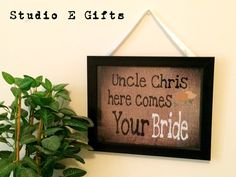A personal favorite from my Etsy shop https://www.etsy.com/listing/226910967/rustic-wedding-sign-flower-girl-sign