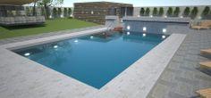 Proiectare si randare 3D - piscine publice sau private, bazine de inot sau aqua park-uri
