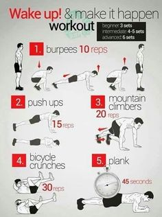 Work out excercise