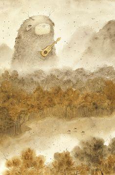 Наивные и глубокие рисунки Светланы Юрченко (47 фото)