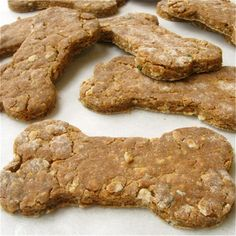 12 Recipes for Homemade Dog Treats l Brit + Co.