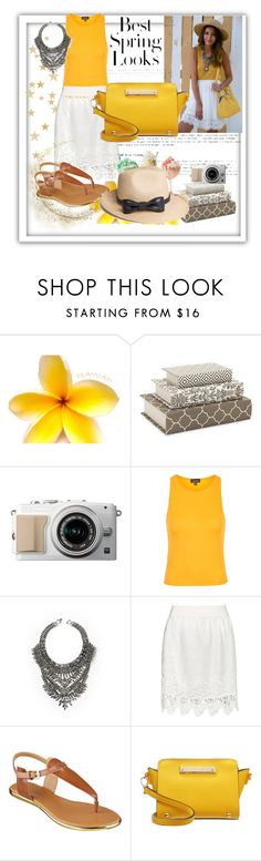 """""""#29"""" by dzeniii ❤ liked on Polyvore featuring H&M, Topshop, DYLANLEX, Zizzi, Nine West, Miss Selfridge and The Season Hats"""