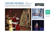 """Use Capture the Magic to allow magical characters, like Santa, to be """"caught"""" on camera for your children's enjoyment. #holiday #shareasale"""