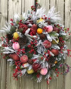 How to Make Faux Sugared Fruit for Home Decor by Southern Charm Wreaths