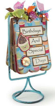 idea for birthday calendar