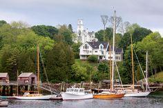 Rockport & Camden, Maine | Two Miles of Coastal Beauty