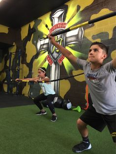 Brother and sister going at it on the @trxtraining rip trainer!!! #Gitright #GODSSOLDIERS #GODITRUST #baseball #ballet #dance #mma #sportstraining #sportsperformance #core ##trxtraining #personaltraining #movement #trainer #whittier #PSALM23 #strengthandconditioning #strengththruGod #athletes #santafesprings #picorivera #lamirada #losangeles #orangecounty @underarmour #underarmour #dynamaxusa #protectthishouse